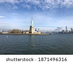 Statue Of Liberty And The New...