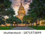 Austin State Capitol With...