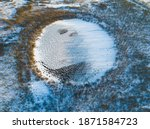 bottomless circle lake in... | Shutterstock . vector #1871584723