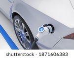 Hydrogen Fuel Car Charging...