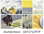 collage set made of photos...   Shutterstock . vector #1871712979