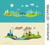 flat design vector concept... | Shutterstock .eps vector #187199486