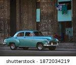 Havana  Cuba   July  2017  Old...