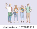 individual protection from... | Shutterstock .eps vector #1872042919