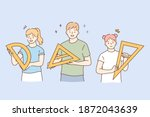 learning geometry and school... | Shutterstock .eps vector #1872043639