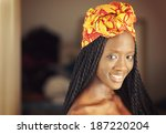 young african american woman | Shutterstock . vector #187220204