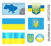 vector illustration map emblem... | Shutterstock .eps vector #187227533