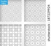 set of font  | Shutterstock .eps vector #187229924