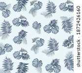 repeating tropical pattern with ...   Shutterstock .eps vector #1872426160