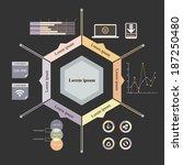 vector illustration of timeline ...   Shutterstock .eps vector #187250480