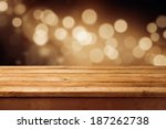 bokeh background with empty... | Shutterstock . vector #187262738