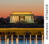 Abraham Lincoln Memorial And...