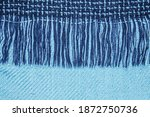 Close Up Of Fine Checked Woolen ...