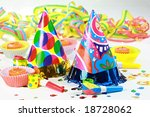 party accessories for new year... | Shutterstock . vector #18728062
