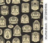 Seamless Pattern With Ornate...