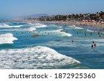 Oceanside  California  Usa ...