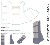 pos floor display packaging... | Shutterstock .eps vector #1873053229