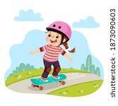 vector illustration cartoon of... | Shutterstock .eps vector #1873090603