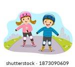 vector illustration cartoon of... | Shutterstock .eps vector #1873090609