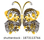 Butterfly Made From Curves...