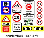 assorted speed symbols  jpg | Shutterstock . vector #1873124