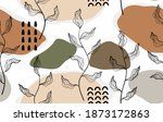 seamless pattern with abstract...   Shutterstock .eps vector #1873172863