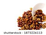 Hazelnuts  Almonds  And Walnuts ...