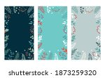 merry christmas banners with... | Shutterstock .eps vector #1873259320