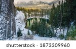 Upper And Lower Grassi Lakes In ...