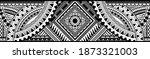 polynesian tattoo pattern maori ... | Shutterstock .eps vector #1873321003