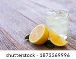 Lemon Juice Or Lemonade With...