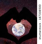 love planet concept with human... | Shutterstock . vector #187338500