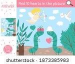 vector saint valentine day...   Shutterstock .eps vector #1873385983