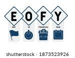 eofy   end of financial year... | Shutterstock .eps vector #1873523926