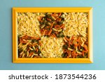 Colorful Auger Pasta And...