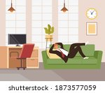 businessman office worker man...   Shutterstock .eps vector #1873577059