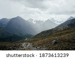 Atmospheric Alpine View From...