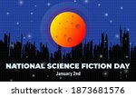 national science fiction day....   Shutterstock .eps vector #1873681576