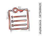 password account icon in comic... | Shutterstock .eps vector #1873688620