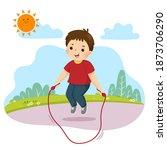 vector illustration cartoon of...   Shutterstock .eps vector #1873706290