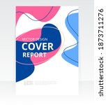 vector abstract design cover... | Shutterstock .eps vector #1873711276