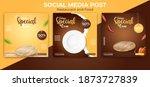 food or culinary social media... | Shutterstock .eps vector #1873727839