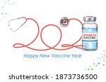 illustration of welcoming happy ... | Shutterstock .eps vector #1873736500