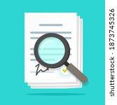 analysis inspection audit of...   Shutterstock .eps vector #1873745326