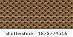 black and golden circular... | Shutterstock . vector #1873774516
