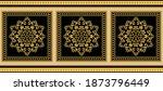 golden decorative baroque... | Shutterstock .eps vector #1873796449