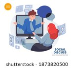 discuss of social vector...