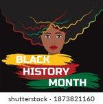 black history month for...   Shutterstock .eps vector #1873821160