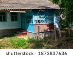 Old Rustic House With Veranda