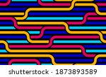 linear seamless background with ... | Shutterstock .eps vector #1873893589